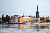 Stockholm in winter — Stock Photo