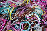 Mix of colorful bracelets — Stock Photo