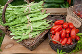 Fresh produce market — Stock Photo