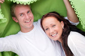 Fun young couple — Foto de Stock