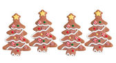 Gingerbread trees — Stock Photo