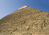 Gran pirámide de giza — Foto de Stock