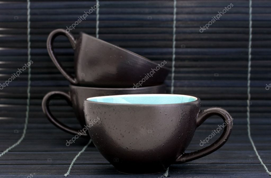 Still life with tea or espresso cups — Stock Photo #2458206