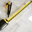 Measuring & drawing tools — Stock Photo
