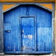 Royalty-Free Stock Photo: Colourful garage door