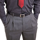 Man with hands in his pockets — Stock Photo