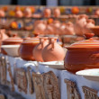 Pottery market in Crete — Stock Photo