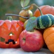Citrouilles d'Halloween — Photo