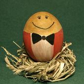 Smile of Mr. Egg — Stock Photo