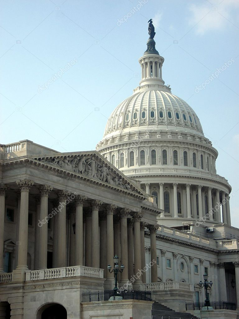 Government and Capitol Dome in Washington DC — Stock Photo #2360420