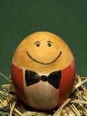 Mr.egg close up — Stock Photo
