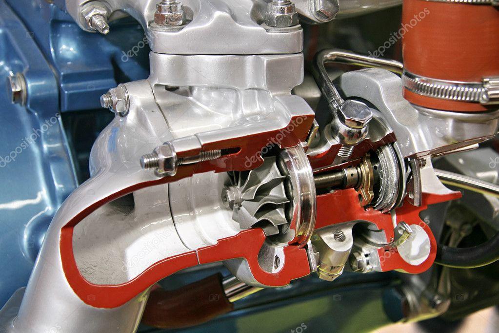 Turbo Kompressor Querschnitt Stockfoto 169 Gortan 2609409