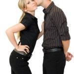 Business kiss — Stock Photo #2456523