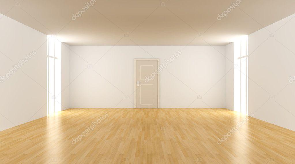 在一个空房间的门 图库照片 2418921