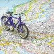 Bicycle on Europe — Stock Photo