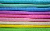 Kolorowe ręczniki — Zdjęcie stockowe