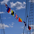 Signal Flags — Stock Photo
