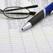 Accounting Ledger — Stock Photo
