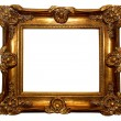 Baroque frame - Stok fotoraf