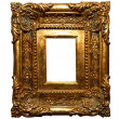 Stock Photo: Handcrafted frame