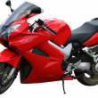 Rote Speed-bike — Stockfoto