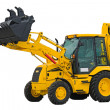 Power excavator - Stock Photo