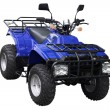 Blue ATV — Stock Photo