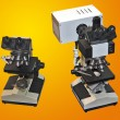 Two microscopes - Stock Photo