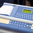 Modern EKG Machine - Stock Photo
