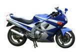 Blau Speed-bike — Stockfoto