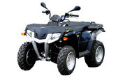 Black ATV — Stock Photo