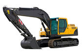 Excavator ready for work — Stock Photo