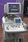 Hi-tech cardic monitor — Stock Photo