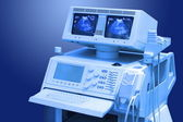 Ultrasound medical scanner — Stock Photo