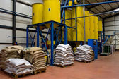 Kaffee-fabrik — Stockfoto