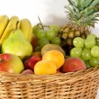 Big basket detail - Stock Photo