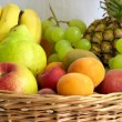 Stock Photo: Fruits gathering