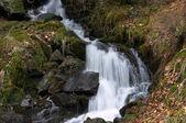 Waterfall close-up — Stock Photo