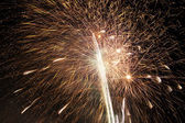 FIreworks snow — Stock Photo