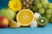 Pintura de frutas — Foto de Stock