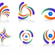 Logo Design Elements — Image vectorielle