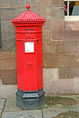 Old Red Post Box — Stock Photo