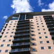 Foto Stock: Modern Apartment Building in Manchester