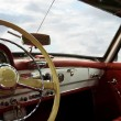 Classic Car Dashboard - Stockfoto