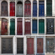 Stock Photo: Vintage doors