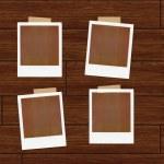 Polaroids Illustration — Stock Photo