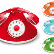 Royalty-Free Stock Vector Image: Retro Telephone