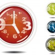 Royalty-Free Stock Vector Image: Office Wall Clock