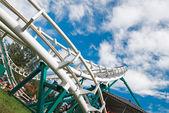 Sky rollercoaster — Stock Photo
