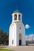 Bell-tower of the dormitory church — Stock Photo